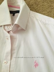 Рубашка брендовая U. S. Polo оригинал размер М