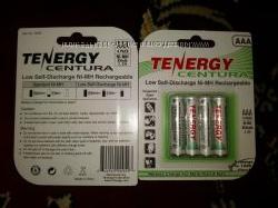 Аккумуляторы NiMH ААA 800 mAh Tenergy аналог Sanyo Eneloop