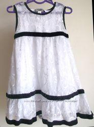 Нарядное летнее платье  для девочки  4-5лет 116