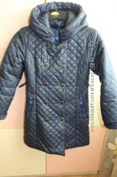 Пальто стеганное демисезонное 134 размер
