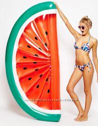 Надувная долька арбуза. Для пляжа бассейна и вечеринок. Размер 180 см.
