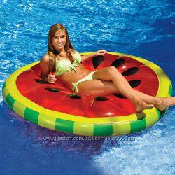 Надувной Арбуз. Для пляжа, бассейна и вечеринок. Размер 160 см.