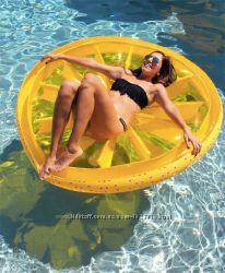 Надувной Лимон. Для пляжа бассейна и вечеринок. Размер 160 см.