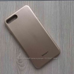 Чехол накладка силиконовая iPAKY для iPhone 7plus 7S plus Gold