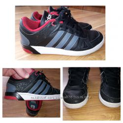 37 размер. Детские кроссовки Adidas Neo Label. Кожа.