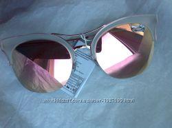 Очки Furlux красивая модель Италия зеркальные розовые