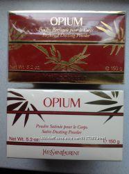 Opium парфюмированная пудра ранний выпуск интенсивный аромат