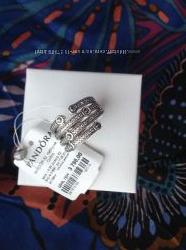 Кольцо Pandora оригинал из магазина с биркойпломбой Новое