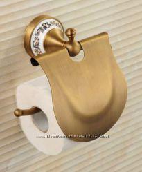 Держатель туалетной бумаги бумагодержатель с крышкой 0270