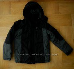 146-152 см Rebel шикарная демисезонная куртка еврозима. Длина - 5964 см, ш
