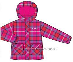 Демисезонная куртка утепленная для девочки, 650 M F14, Virtual Pink