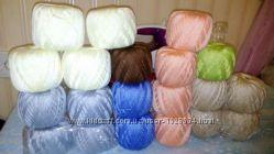 Пряжа для вязания 100 хб Lily от ЯрнАрт.
