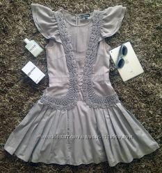 Красивое платье с вышивкой от британского бренда Warehouse. Sale 50