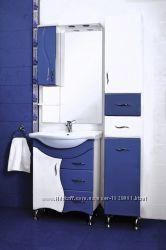 Новый синий комплект мебели для ванной JUVENTA BRIZ Ювента бриз