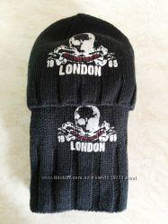 шапка-шарф benetton