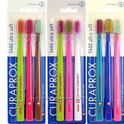Набор зубных щеток Curaprox CS 5460 3 шт. Швейцария