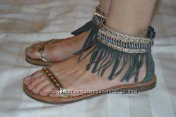 Босоніжки сандалі шкіраTamaris розмір 39 40, босоножки кожа