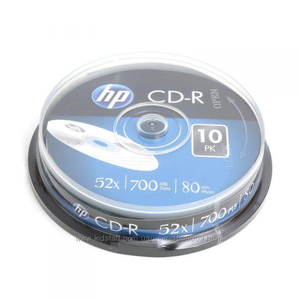 CD-R, CD-RW, DVD-R, DVD-RW, BD-R, BD-RE диски фирмы Hewlett Packard