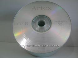 Диски CD-R Artex, Perfeo, VS, CMC, Traxdata