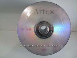 DVD-R 4. 7Gb чистые диски VS, Artex, CMC, Perfeo