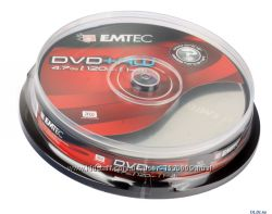 CD-RW, DVD-RW чистые диски для перезаписи VS, Artex, Emtec, HP