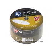 Диски чистые для печати DVD-R Printable HP, Emtec