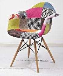 Кресло Пэрис Вуд Пэчворк Paris Wood Patchwork для дома, салона, студи