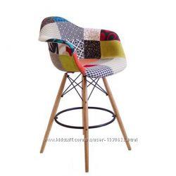 Барное кресло Пэрис Вуд Пэчворк Paris Wood Patchwork для дома, салона