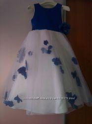 Шикарное платье 8-9-10 лет на свадьбу, выпускной, фотосессию, новый год