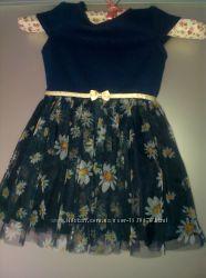 Очень красивое платье на праздник, фотосессию, новый год - 12-18 мес 80-86