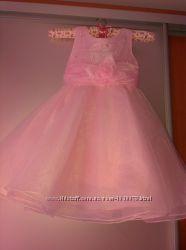 Новое нарядное платье 4-5-6 лет на выпускной, фотосессию, новый год
