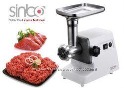 Электрическая мясорубка Sinbo SHB-3074, Турция 1500W
