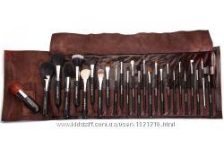 Набор кистей для макияжа Armee Beaute профессиональный в коричневом чехле