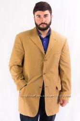 Пиджак мужской светло-коричневый однобортный Tommy Hilfiger Buck-Jones 52