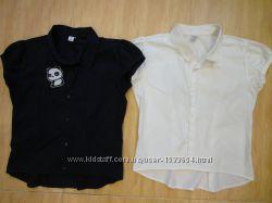 Кофточки футболки блузки школьные 146-152 размер