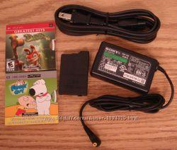 Приставка Sony PSP-3008, WI-FIИгры