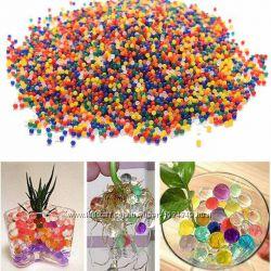 Гидрогель для цветов, аквагрунт - микс цветов 1000шт