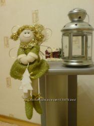Игрушка Девочка Фея фэнтези ручной работы, куплена в Германии