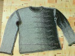 Оригинальный теплый мужской свитер, состояние нового, 50, 52, 54 размер укр.