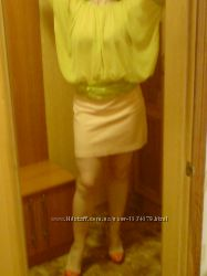 Уникальная блуза нежного цвета р 44-50  Отдам при покупке моих тов-ов