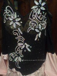 Необычное платье для бальных танцев