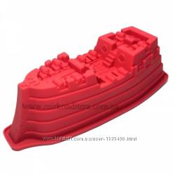 Форма силиконовая корабль