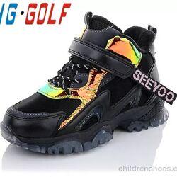 Ботинки Импорт C40127-0 JongGolf /   Черный Cезон Зима Бренд Jon