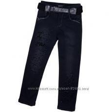 Утепленные джинсы Yuke на флисе