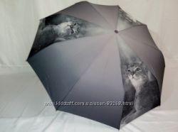 Зонт женский серия Кошки, в подарочной упаковке