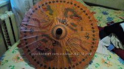 Зонт от солнца бумажный