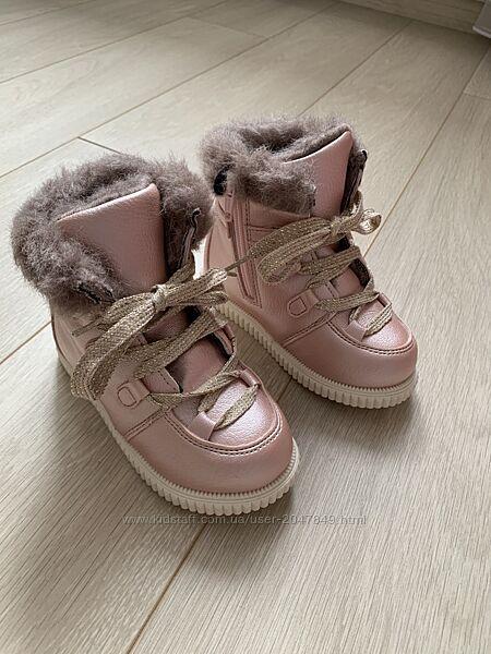 Ботинки сапожки чобітки черевички хайтопы Zara HM Mango Ecco Geox 25 26