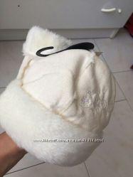 Новая гламурная шапочка с варежками на принцессу