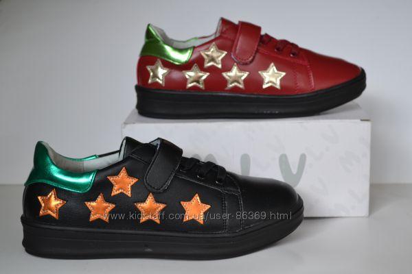Туфли кроссовки для девочек M. L. V. р. 26-36