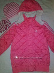 куртка adidas оригинал для девочки